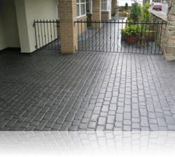 PROJECT 8 - AFTER - Country Cobble Driveway and Path Basalt