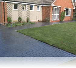 PROJECT 11 - AFTER - Country Cobble Driveway and Paths Slate Grey