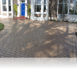 PROJECT 12 - AFTER - Country Cobble, Driveway, Paths and Patio in Biscuit
