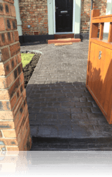 PROJECT 13 - AFTER - Country Cobble Paths Slate Grey