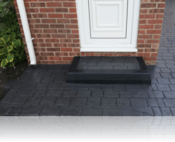 London Cobble Step in Graphite Grey