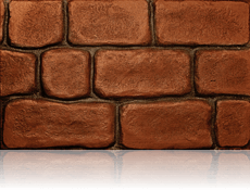 Country Cobble Brick Red