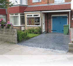 PROJECT 2 - AFTER - Country Cobble Driveway Platinum