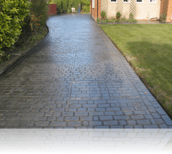 PROJECT 3 - AFTER - Country Cobble Driveway and Paths Slate Grey